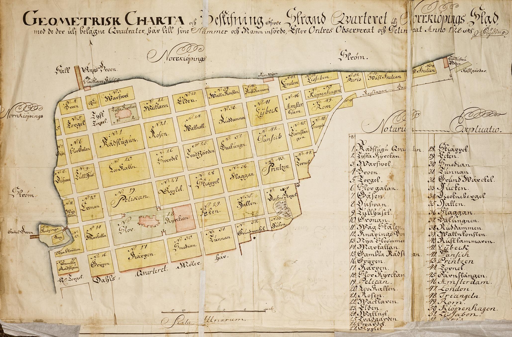 Karta 1728