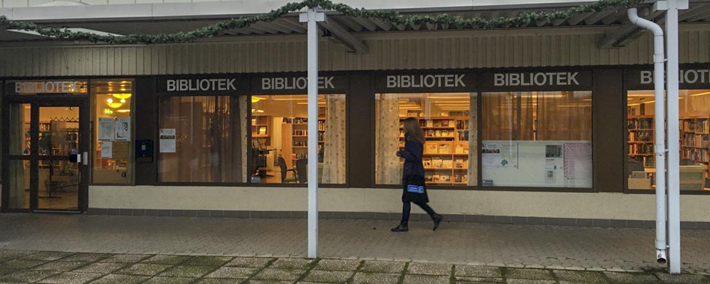 Vilbergens bibliotek. Foto: Götabiblioteken