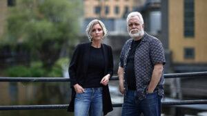 Emelie Schepp och Peter Kristensson. Foto: Peter Holgersson